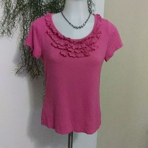 🌷2/$20 SALE!!!🌷 PINK Ruffles by Coldwater Creek